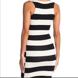 Nordstrom Striped Midi Dress